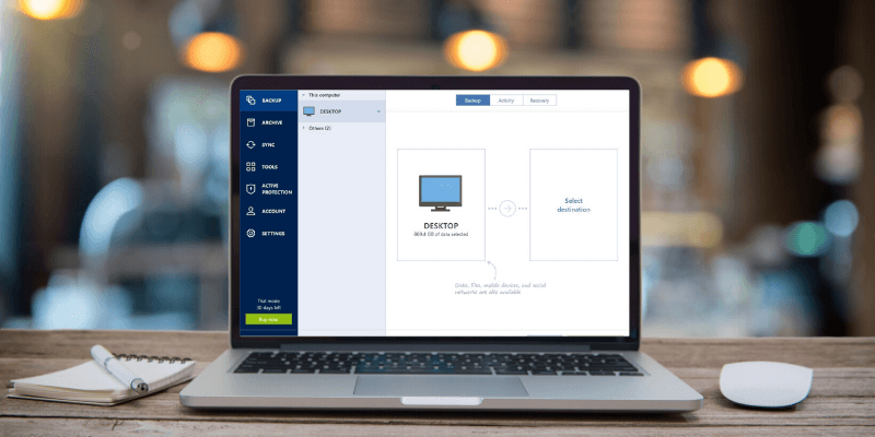 Acronis reliable snapshot Review